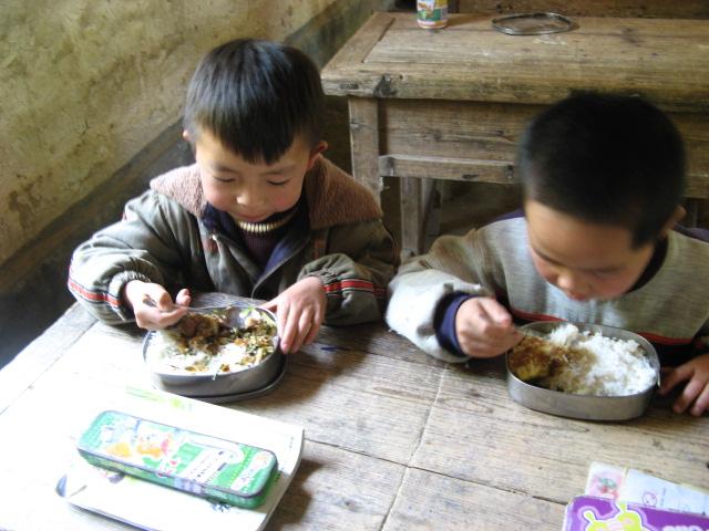 [原创]麦田十一小的学生午餐